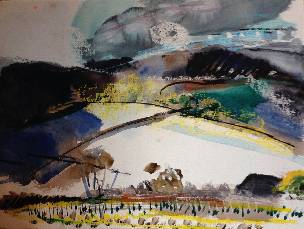 Peter Davey, artist - painting - drawing