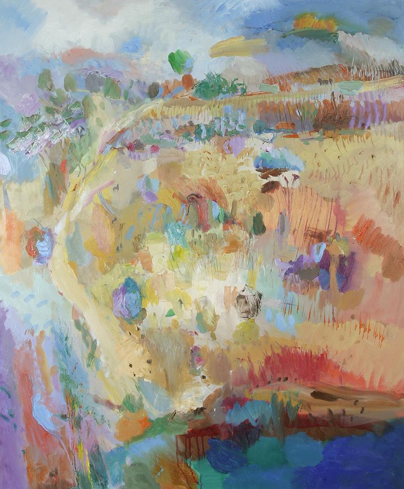 Peter Davey, artist - painting