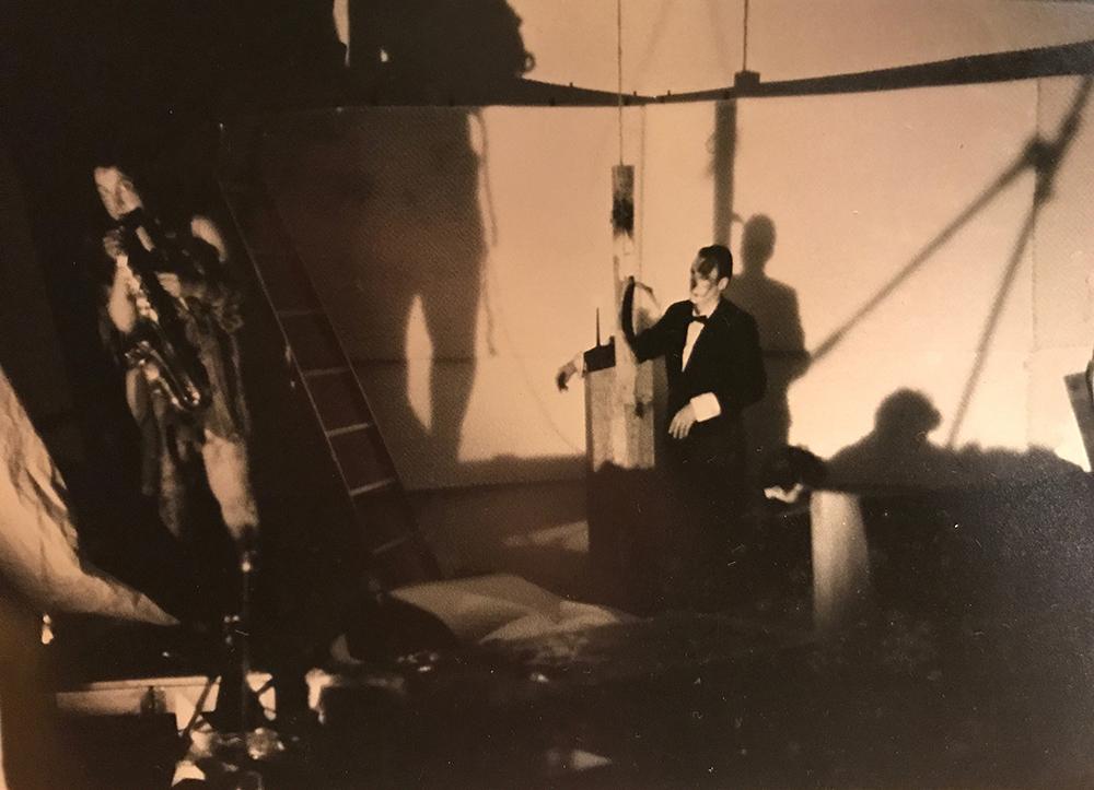 Peter Davey, artist - performance - installation